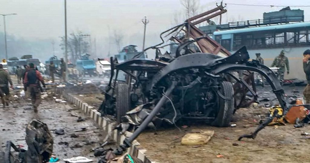 pulwama attack 14th feb 2019